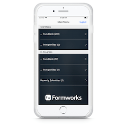 Formworks for iPhone